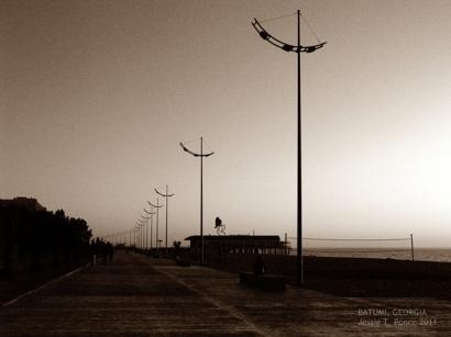 Lamp posts at Batumi Boulevard