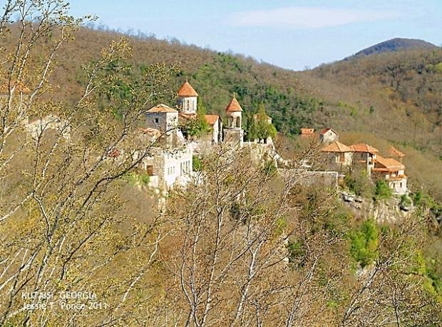The Motsameta Monastery, Georgia. Copyright Jessie T. Ponce 2011