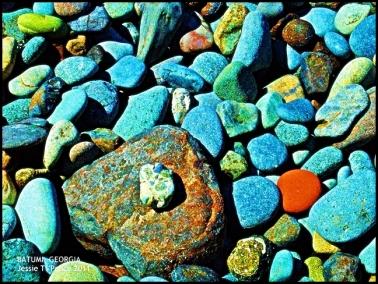Beach Stones, Batumi, Georgia 2011