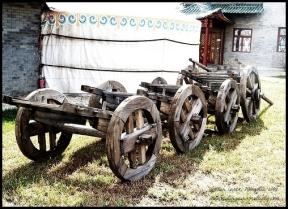 Wooden Carts, Gachuurt, Mongolia 2009