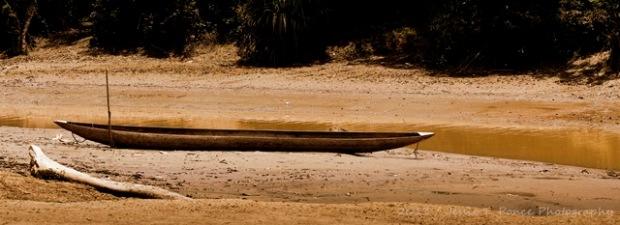"""Shallow River 5"" / Kiunga Riverside Community, Western Province, Papua New Guinea / November 2013"