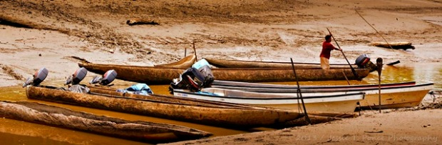 """Shallow River 4"" / Kiunga Riverside Community, Western Province, Papua New Guinea / November 2013"