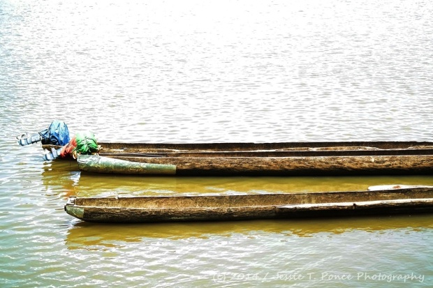 long dugout canoes