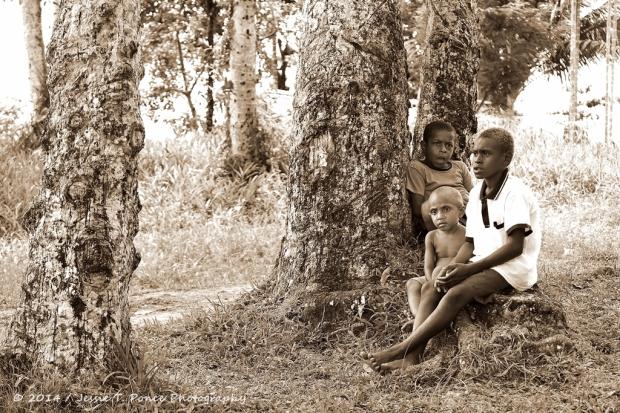 a PNG village