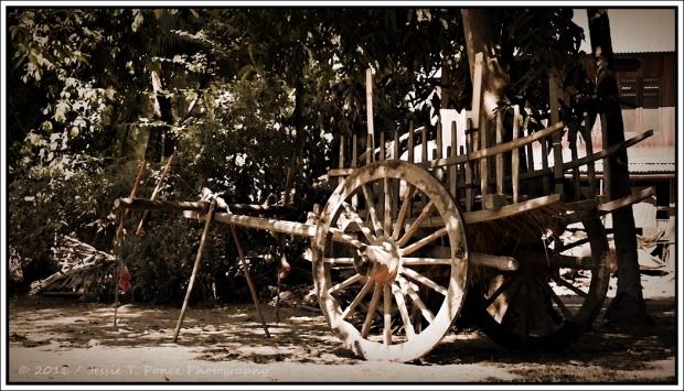 Myanmar farm wagon