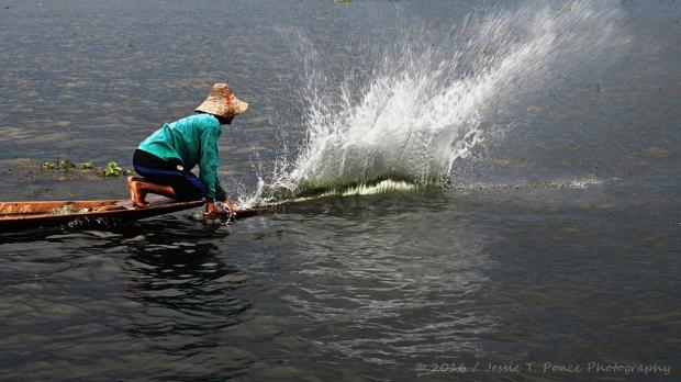 Fishing at Inle Lake