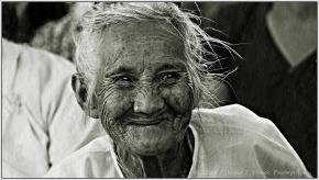 A Shan elderly