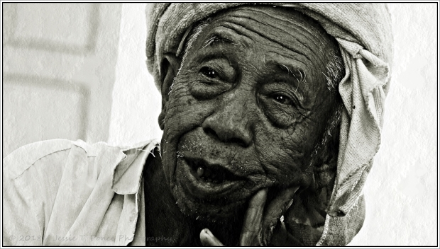 A Shan elderly man
